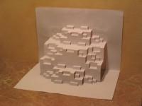 Fractal papercut