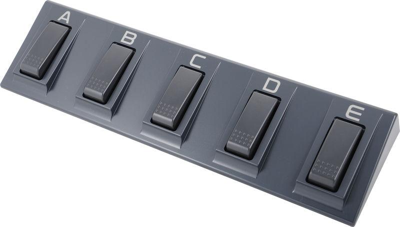 Afternoon hack: a USB foot keyboard
